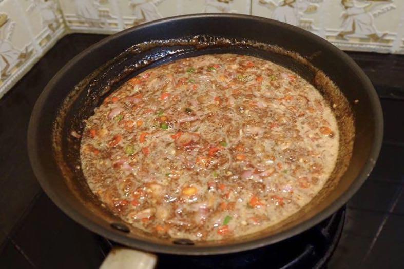 สูตรทำกะปิหวาน น้ำปลาหวาน