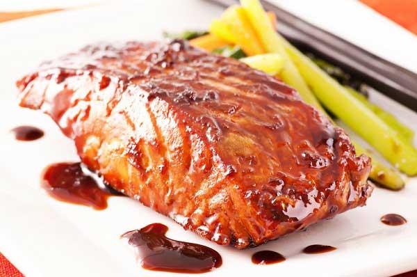 ปลาย่างซอส เมนูปลาย่าง สูตรทำปลาย่าง อาหารสุขภาพเมนูปลา