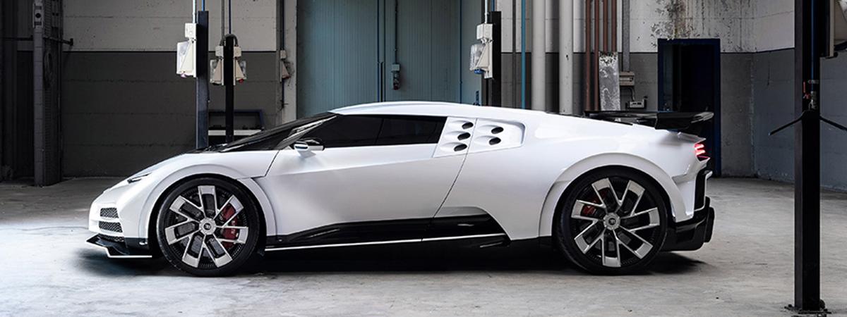 Bugatti Centodieci รุ่นฉลอง 110 ปี ผลิตน้อย ราคาโหด เกือบ 300 ล้านบาท
