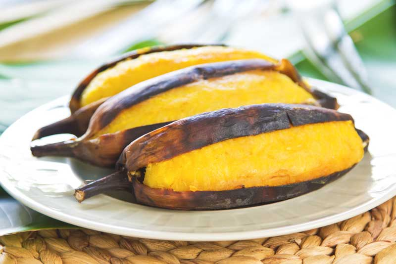 กล้วยเผา