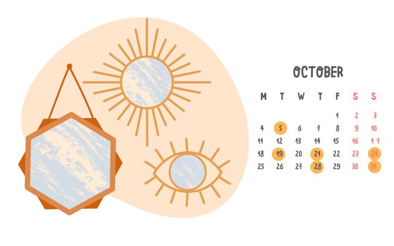 ฤกษ์ขึ้นบ้านใหม่ ตุลาคม 2564