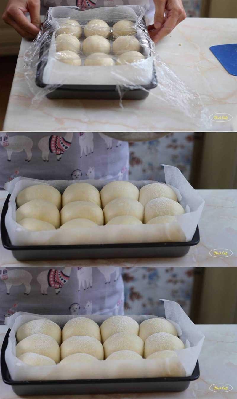 ขนมปังฮอกไกโดนวดมือ