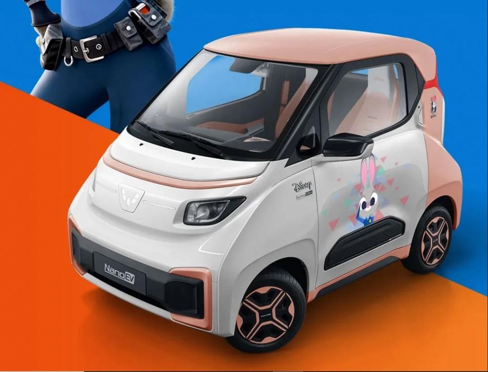 Wuling Nano EV Disney Zootopia 2022