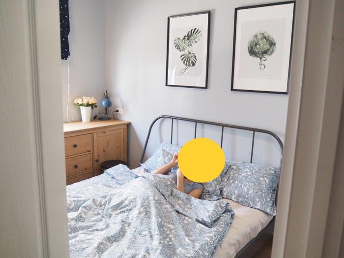 แต่งห้องนอนรับแขก