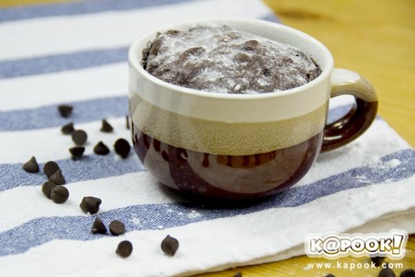 เค้กช็อกโกแลตไมโครเวฟ