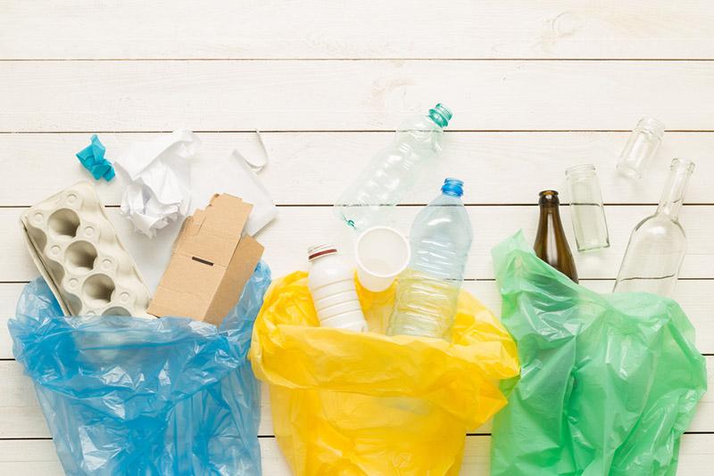 การคัดแยกขยะที่บ้าน