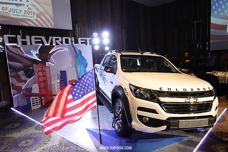Chevrolet Colorado 4th of July Edition 2020