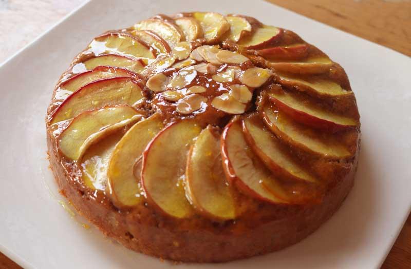 เค้กแอปเปิล