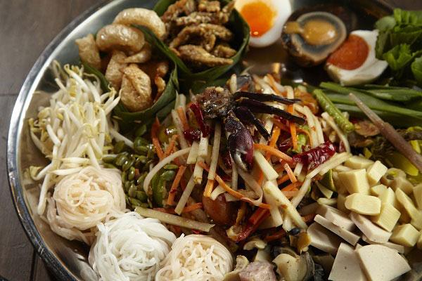 อาหารไทยใส่ปลาร้า