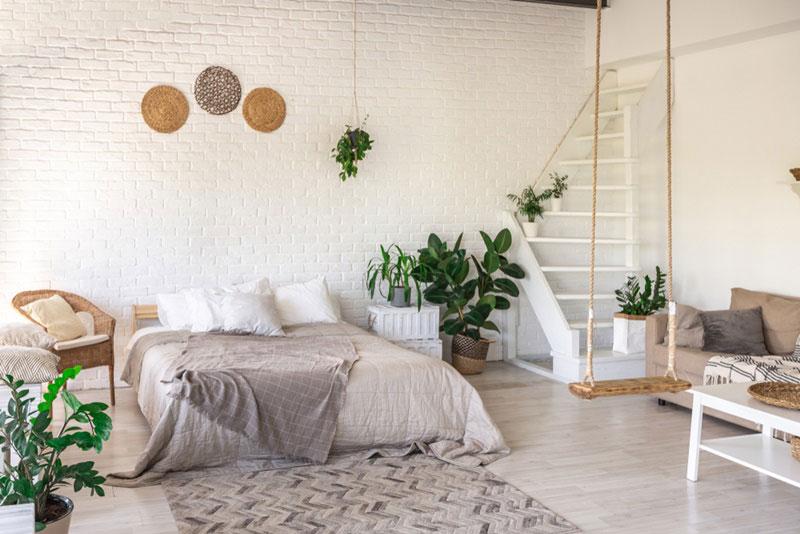 10 ไอเดีย Floor Bed แต่งห้องนอนแบบไม่มีเตียง