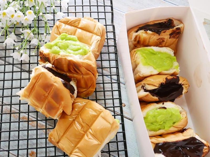 ขนมปังปิ้งไส้เยิ้มทำเองได้ไม่ต้องต่อคิว เมนูขนมปังง่าย ๆ ทำกินได้ทำขายดี