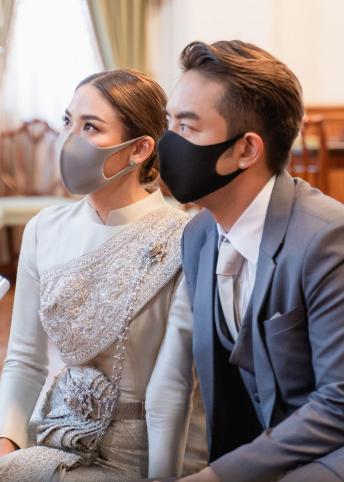 ชุดแต่งงาน, COVID-19