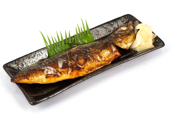 ปลาซาบะย่างซอส