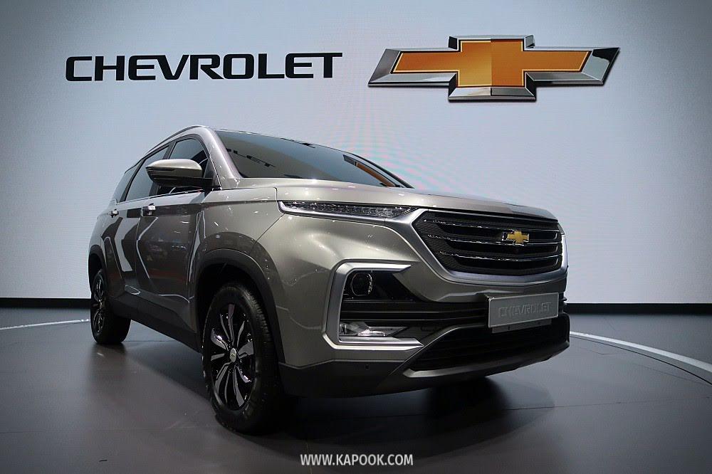 เปิดตัว All New Chevrolet Captiva 2019 ยืนยันราคาต่ำกว่าล้าน