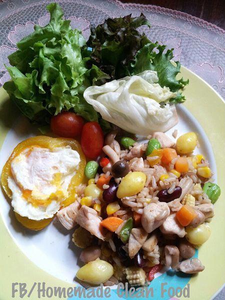 ข้าวผัดธัญพืช