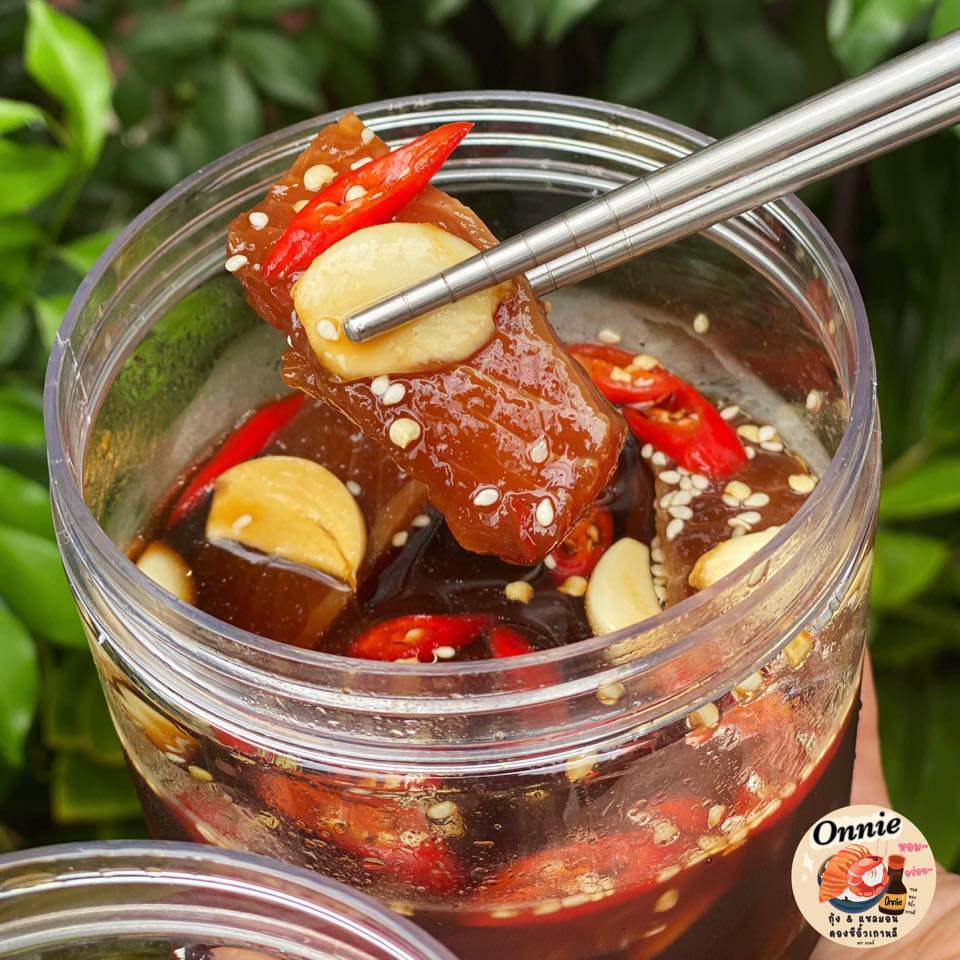 Salmon Pickled Soy Sauce