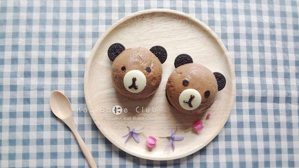 มูสเค้กช็อกโกแลตหมี