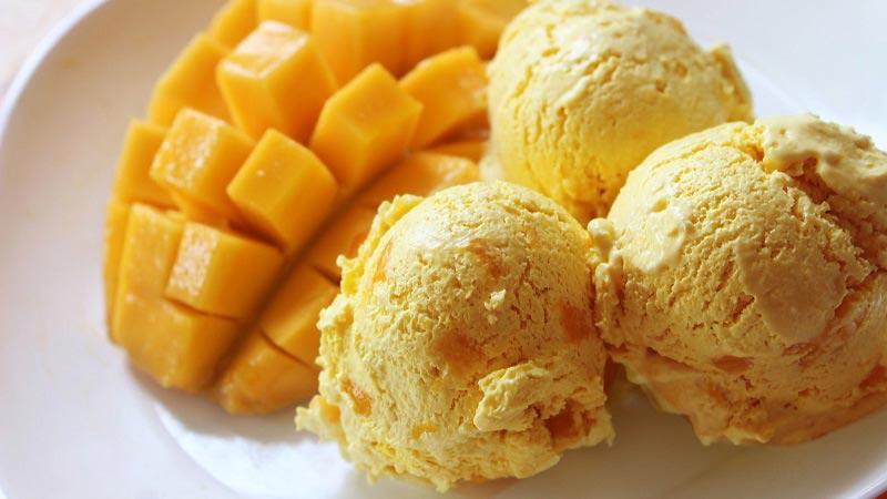ไอศกรีมมะม่วง
