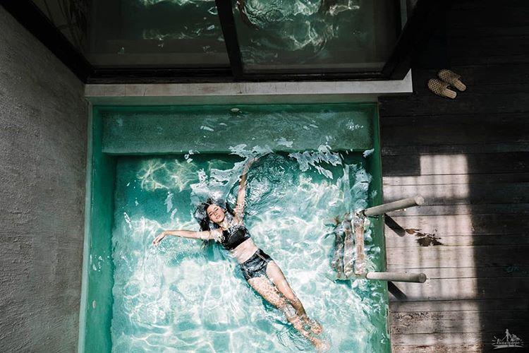 ใบเฟิร์น อัญชสา ในชุดว่ายน้ำ สวย แซ่บ เผ็ด สะท้านใจ