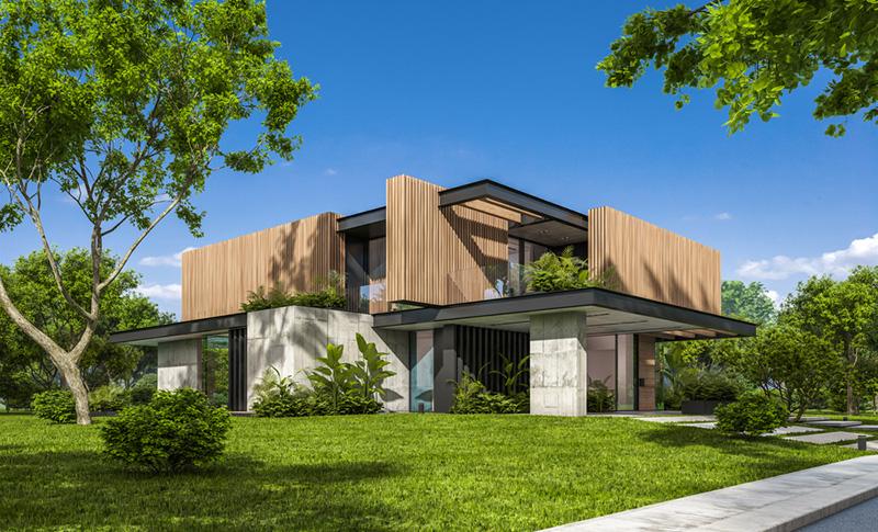 ออกแบบบ้านไม่ร้อน