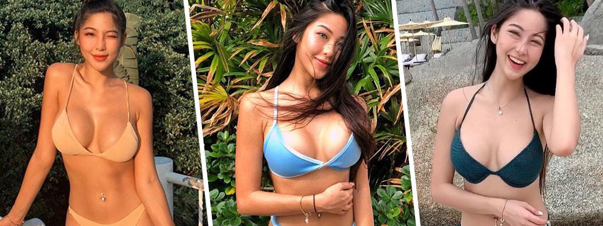 รวมภาพสุดเซ็กซี่ หวาย ปัญธิษา ในชุดว่ายน้ำ หลังอัปไซซ์เพิ่มความแซ่บ !!