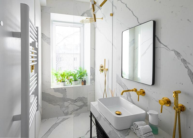 วิธีกั้นห้องน้ำ
