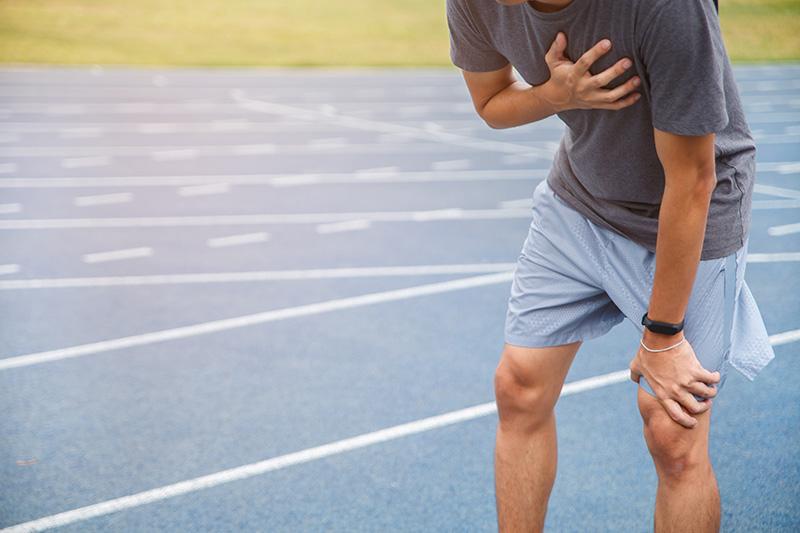 หัวใจวายขณะวิ่ง