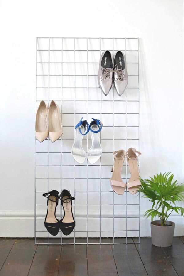 วิธีทำชั้นวางรองเท้า