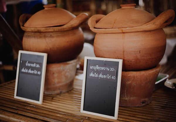 ตลาดค่ายเชลยศึก กาญจนบุรี